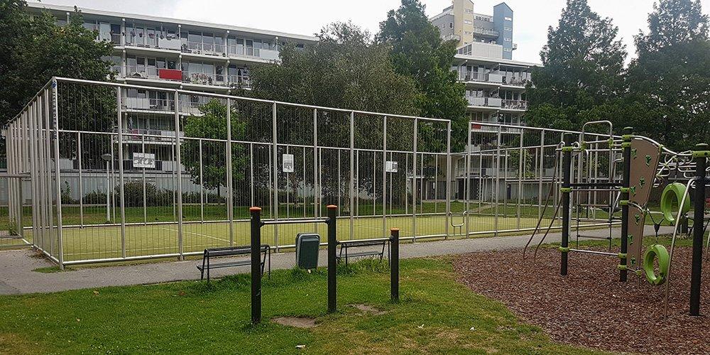 Voetbalkooi in Slaaghwijk